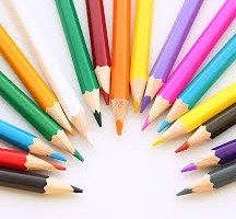 Disegnare con matite e pastelli